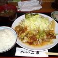 Photos: チキンソテー定食800