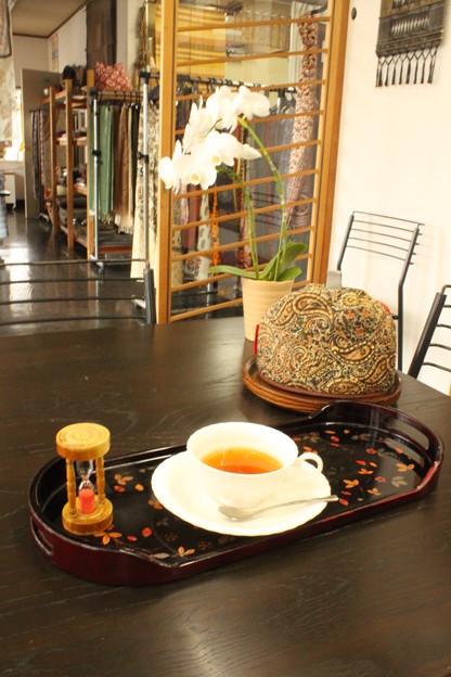 友人の紅茶屋