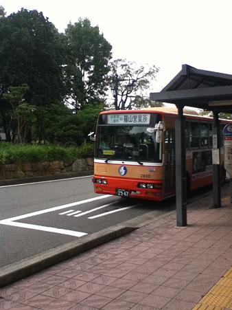 20110918篠山口バス停