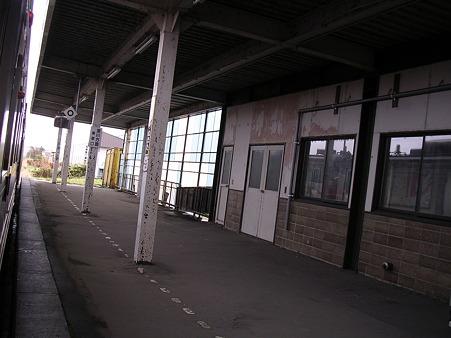 石狩沼田駅ホーム2