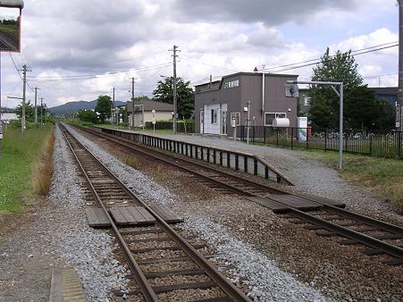 東旭川駅ホーム1