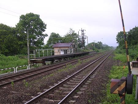 鷲ノ巣駅ホーム1