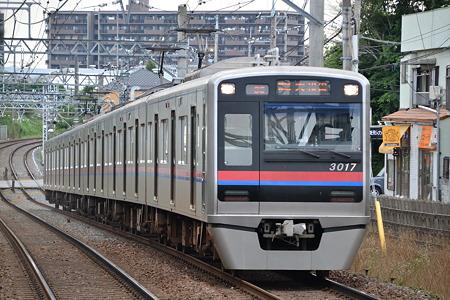 3000形@実籾駅[7/30]