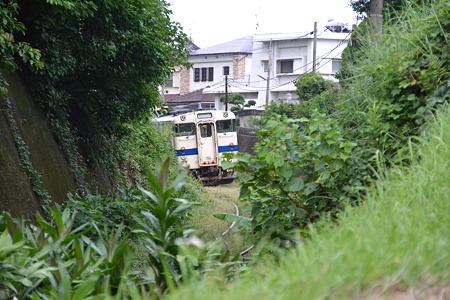 緑の中に(キハ47形)@枕崎駅周辺[8/16]