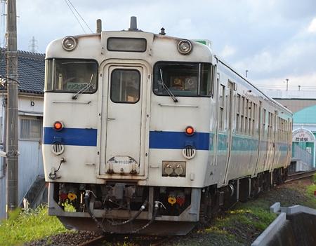架線はまだ無い。(キハ47形)@枕崎駅周辺[8/13]