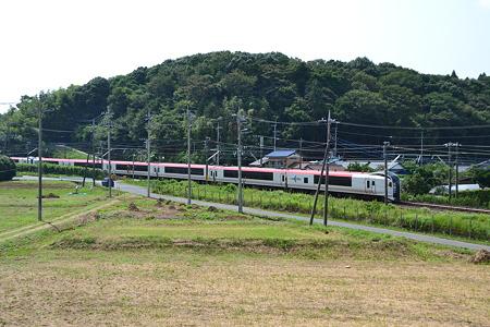 E259系@物井駅-佐倉駅[8/23]