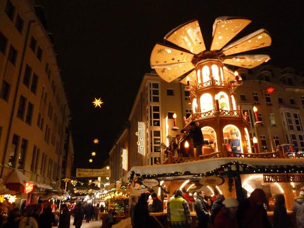 ドレスデンのクリスマス市