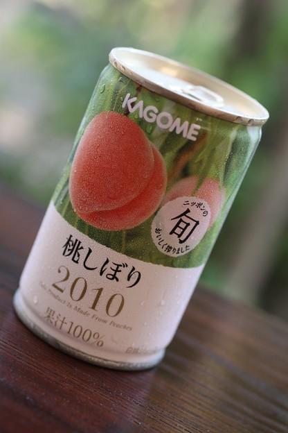 KAGOME  桃しぼり 2010