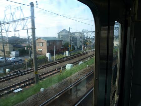 江ノ島線の車窓7(藤沢界隈)