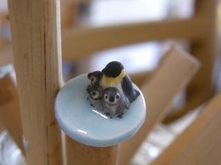 ミニチュア陶器ペンギン01