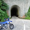 細尾峠のトンネル