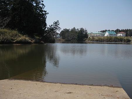 野村田池 震災後