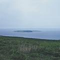 天売島から焼尻島を望む