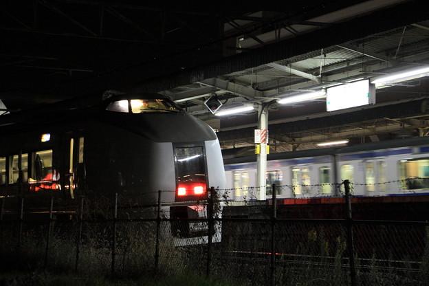 Photos: 常磐線 佐貫駅 特急フレッシュひたち55号