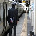信越本線 長野駅 妙高8号 車掌