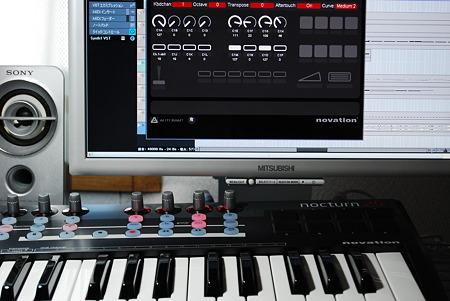 novation Nocturn Keyboard 25 エディット画面含む