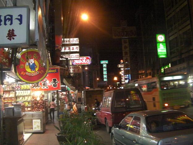 バンコク ヤワラー通り