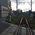 Photos: 夏の終わり、早朝の名鉄西幡...
