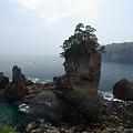 写真: 陸中海岸・三王岩