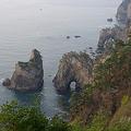 断崖の連なり