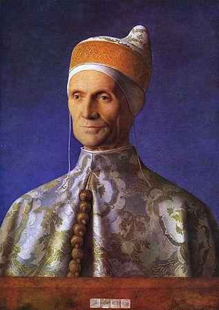 ジョヴァンニ・ベリーニ「ヴェネツィア総督レオナルド・ロレダン」