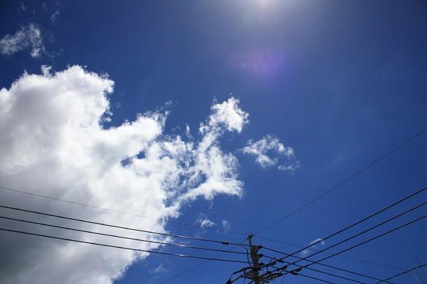 写真: 夏の空2
