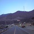 Photos: 8時20分、店舗前 三田市藍本の道路状況です>>>お気をつけてご来店ください>にしら米穀店