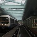 写真: YouTube - 台北捷運(MRT) 棕線 前面展望 後編・文山線 Taipei MRT Wenshan line cab view