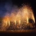 樫山の手筒花火