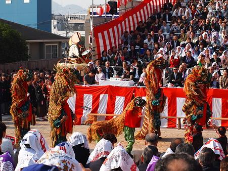 唐子獅子踊2