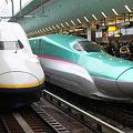 Photos: 上越新幹線E4系 P17編成・東北新幹線E5系 U2編成