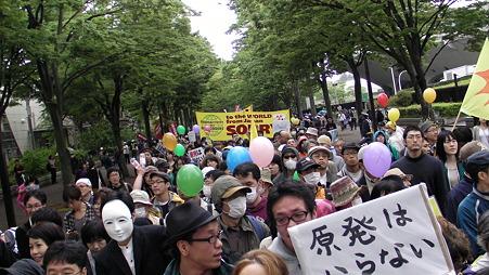 渋谷 原発やめろデモ 20110507 (5)
