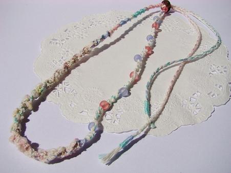 カラフルビーズのネックレス