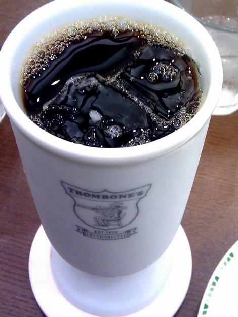 写真: アイスコーヒー