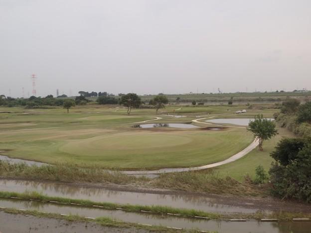河川敷ゴルフ場