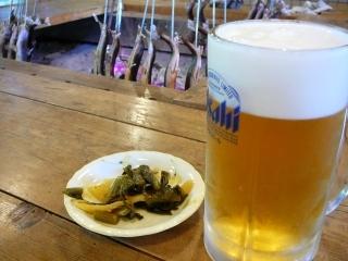 囲炉裏ビール