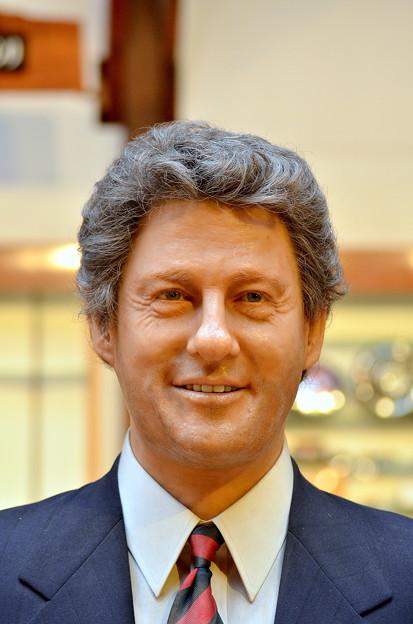 ビル・クリントン(第42代大統領)(の、ろう人形)