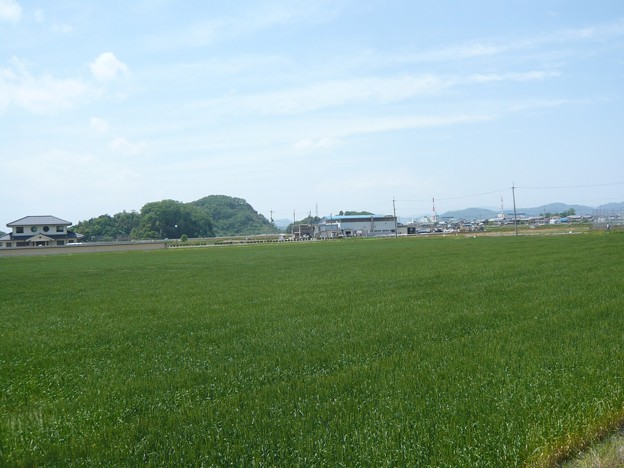 P1210810丁野山城跡・中島城跡へ