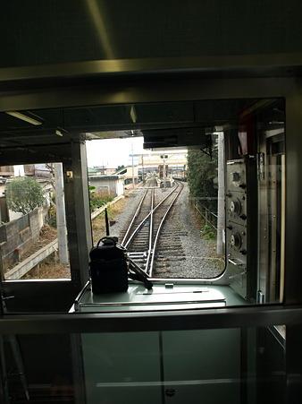 箱根登山電車の車窓(箱根板橋→風祭駅)1