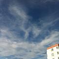 おはよー(^o^)空だけは秋な感じ~