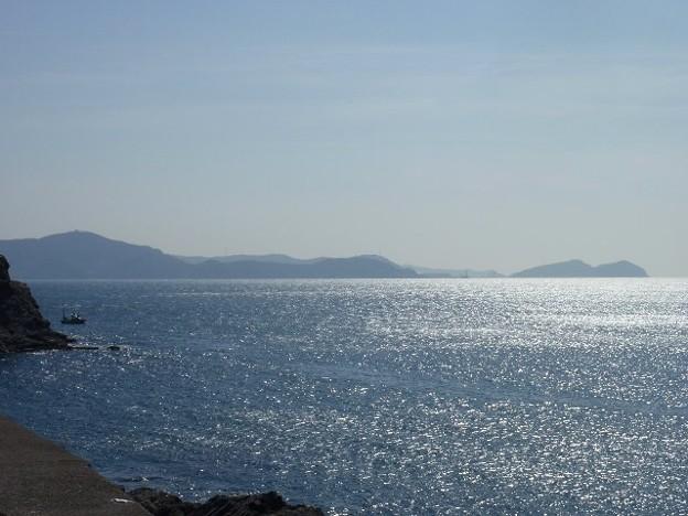 雑賀崎から望む湯浅方面