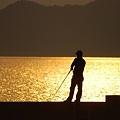 釣り人の景色
