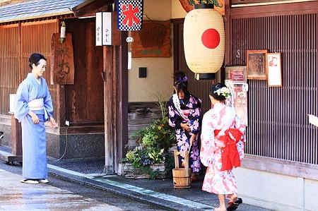 2010.08.18 金沢 東山ひがし 打ち水