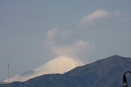 2010.12.26 散歩道 富士山