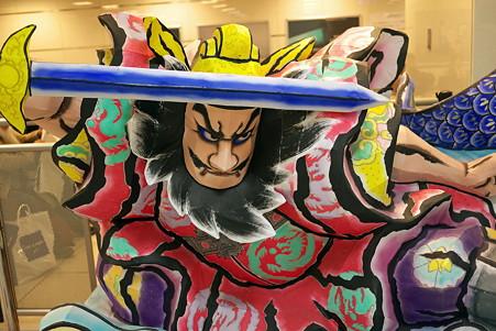 2011.02.24 東京駅 びゅうスクエア待合室 ねぶた-1