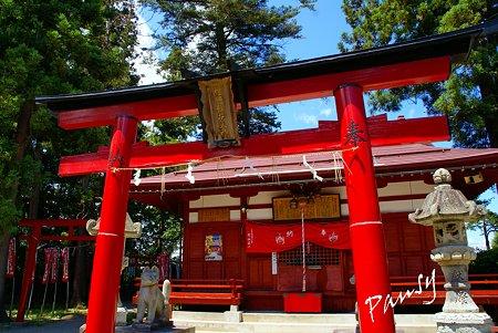 福徳稲荷神社社殿 米沢 上杉神社 6
