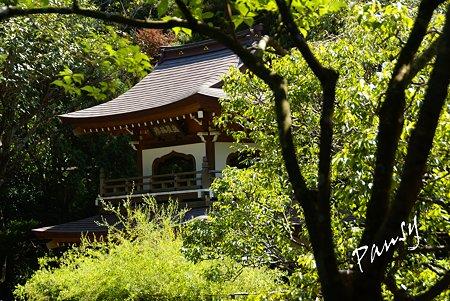 楼門・・長月の浄智寺・・12