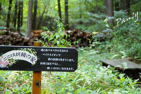 森のなかの妖精の家・・1