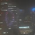Photos: 50ホテルに写るコスモクロック花火
