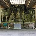 写真: 臼杵石仏・ホキ石仏第一群第二龕 ・如来三尊像 - 05